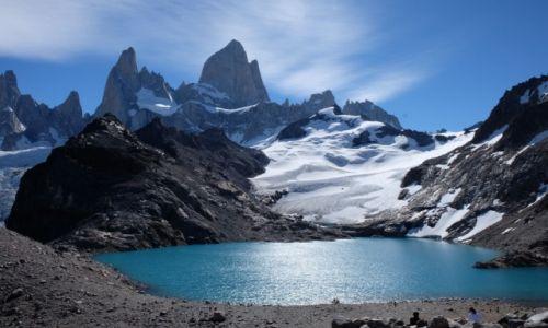 Zdjecie ARGENTYNA / Santa Cruz / Laguna de los tres / Fitz Roy
