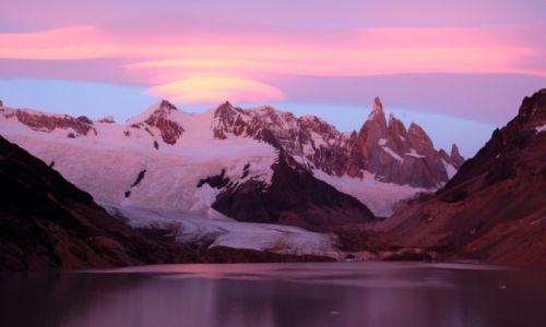 ARGENTYNA / Santa Cruz / Cerro Torre / Cerro Torre o świcie