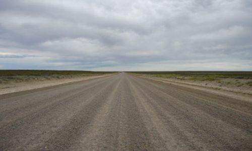 Zdjęcie ARGENTYNA / Chubut / Półwysep Valdes / Bezkres ...