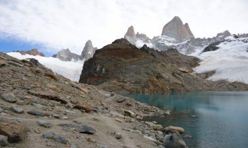 Zdjęcie ARGENTYNA / Santa Cruz (Patagonia) / PN Los Glaciares (cz. północna) / Z lekką mgiełką ...