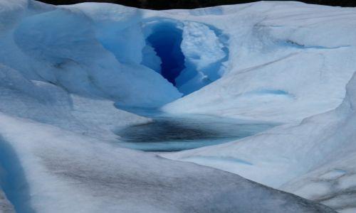 Zdjecie ARGENTYNA / Santa Cruz / Perito Moreno / Vagina z lodu ;-)