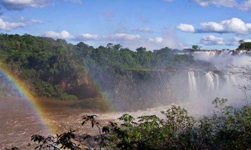 ARGENTYNA / PN Wodospadów Iguazu / jw / Idąc dolną ścieżką