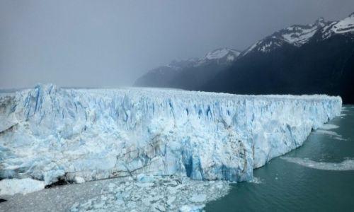 Zdjecie ARGENTYNA / Patagonia / Las Glaciares / Perito Moreno - najpiękniejszy z lodowców