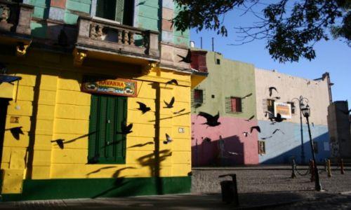Zdjęcie ARGENTYNA / Buenos Aires / La Boca / La Boca wczesnym rankiem