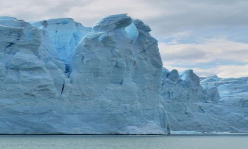 Zdjęcie ARGENTYNA / Patagonia / Lodowiec Perito Moreno / Zimni kochankowie