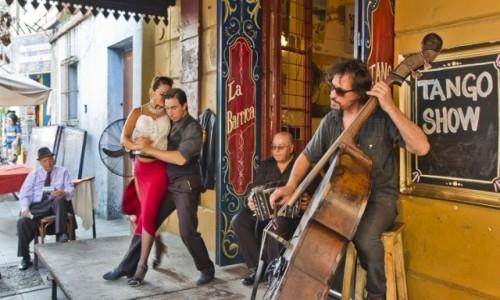 Zdjęcie ARGENTYNA / BUENOS AIRES  / CAMINITO / TANGO SHOW