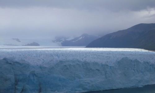 Zdjęcie ARGENTYNA / Parque Los Glaciales / Perito Moreno / lodowiec Perito Moreno