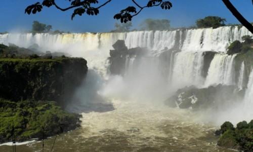 Zdjęcie ARGENTYNA / Iguacu / Iguacu / WODOSPAD IGUACU