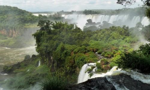 Zdjecie ARGENTYNA / Iguacu / Iguacu / WODOSPAD IGUACU