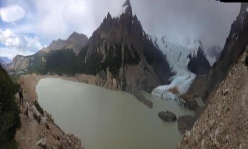 Zdjecie ARGENTYNA / Patagonia / Los Glaciares / Laguna Torre