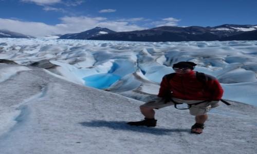 Zdjecie ARGENTYNA / Los Glaciares / Perito Moreno / Wędrówka po Per