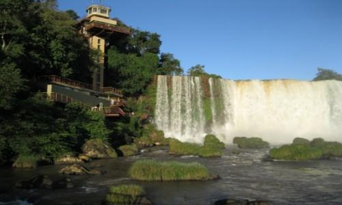 Zdjecie ARGENTYNA / Argentyna / Argentyna / Wodospad  Iquas