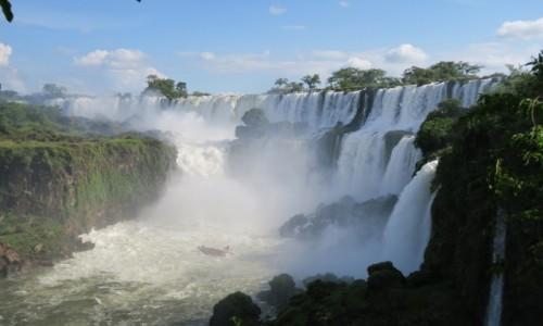 Zdjęcie ARGENTYNA / Misiones / Puerto Iguazu / Moc