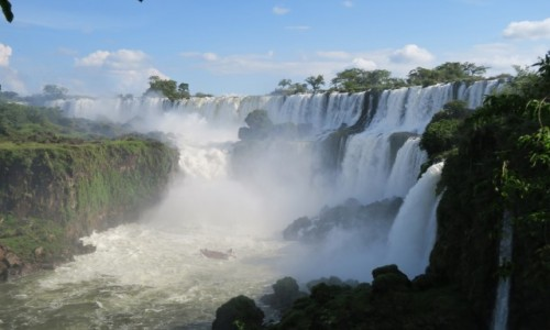 Zdjecie ARGENTYNA / Misiones / Puerto Iguazu / Moc