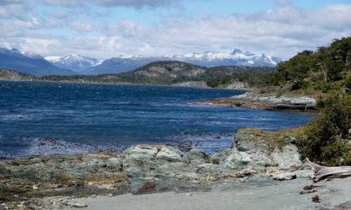 Zdjecie ARGENTYNA / Tierra del Fuego / Ushuaia / Na początku szlaku Senda Costera