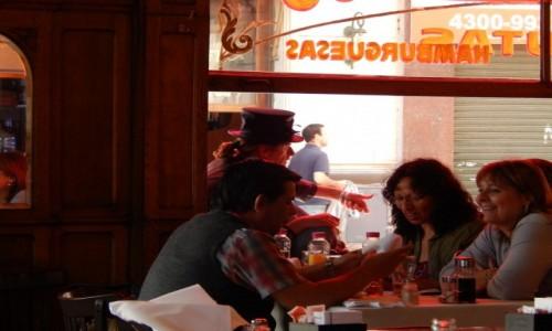 Zdjecie ARGENTYNA / Buenos Aires / Buenos Aires / cafe Britanico...San Telmo,Buenos