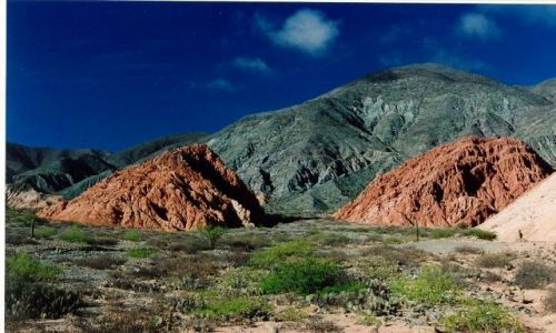 Zdjecie ARGENTYNA / brak / Purmamarca / kolorowe gory
