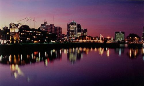 Zdjecie ARGENTYNA / brak / Buenos Aires / wieczor w Buenos Aires