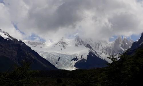 Zdjecie ARGENTYNA / Patagonia / El Chalten  / Okno pogodowe, 10 min spektaklu Cerro Torre