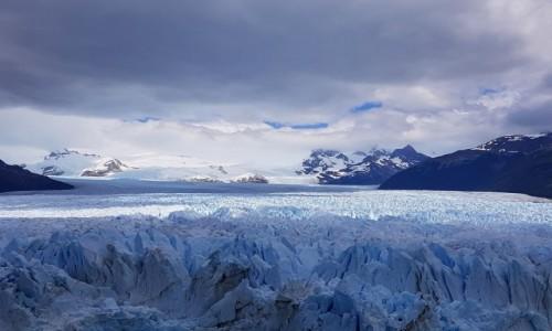 Zdjęcie ARGENTYNA / Patagonia-prowincja Santa Cruz / lodowiec Perito Moreno / Król Lodu