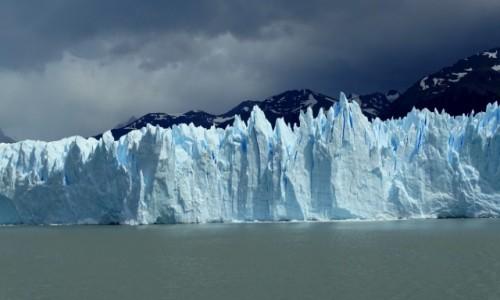 Zdjecie ARGENTYNA / Patagonia-Park Narodowy Los Glaciares / Perito Moreno / Czoło