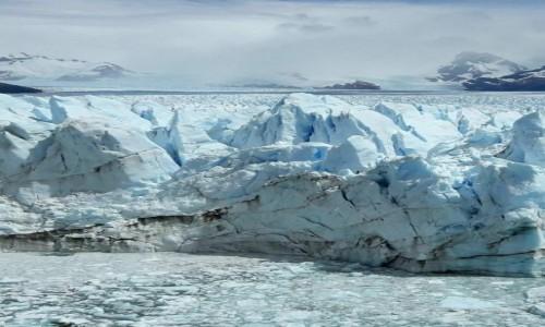 Zdjęcie ARGENTYNA / Patagonia / NP Los Glaciares / Niebieskości