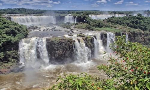 Zdjecie BRAZYLIA / Parana / Foz de Iquazu / Wodospady Iquazu 2