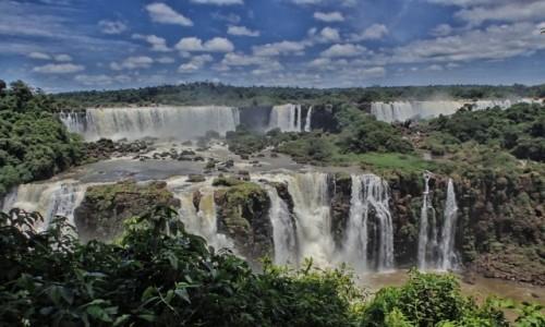 BRAZYLIA / Parana / Foz de Iquazu / Wodospady Iquazu 3