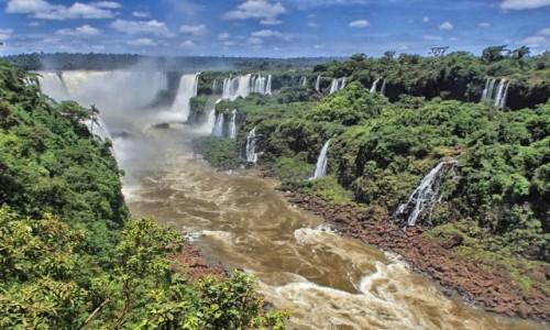 Zdjecie BRAZYLIA / Parana / Foz de Iquazu / Wodospady Iquazu 5