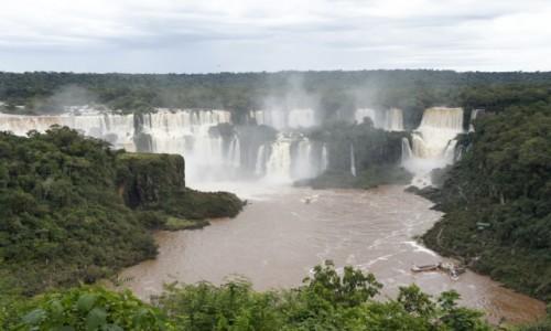 ARGENTYNA / Misiones / Puerto Iguazu / Wodospady Iguazu