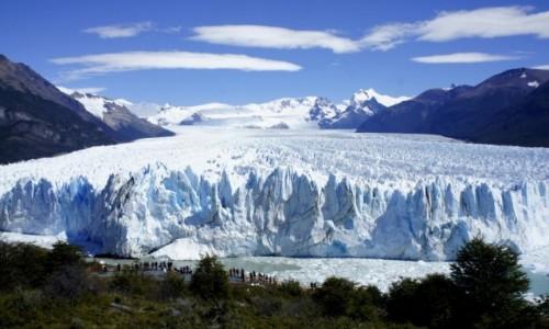 Zdjecie ARGENTYNA / Santa Cruz / Perito Moreno / Lodowiec Perito Moreno