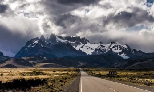 Zdjecie ARGENTYNA / Patagonia / NP Los Glaciares / Zawoalowany