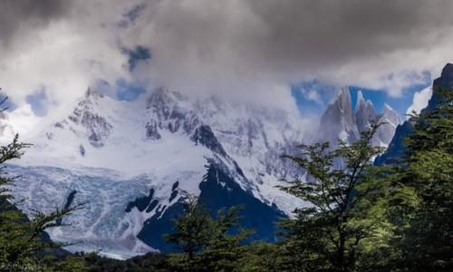 Zdjecie ARGENTYNA / Patagonia / NP Los Glaciares / Spowite...