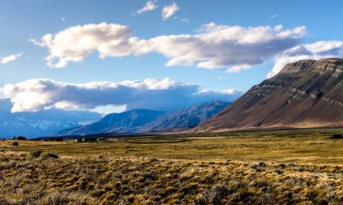 Zdjecie ARGENTYNA / Patagonia / Los Glaciares / W drodze do el Chalten