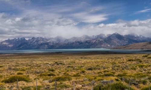 Zdjecie ARGENTYNA / Patagonia / Lago Viedma / Pogoda, która nie może się zdecydować