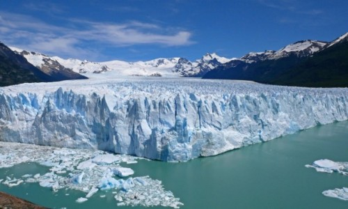 Zdjecie ARGENTYNA / Patagonia / Perito Moreno / Najpiękniejszy lodowiec Patagonii