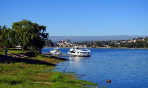 ARGENTYNA / Mendoza / Villa Carlos Paz / Jezioro San Roque