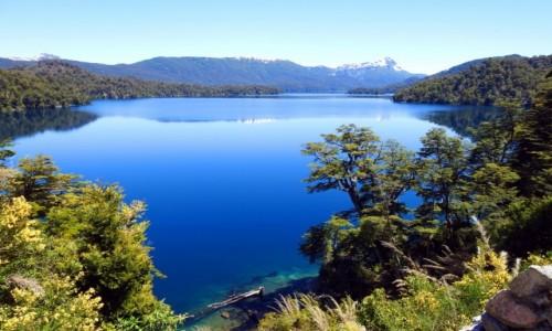 Zdjecie ARGENTYNA / Neuquen / Droga nr 40 / Jezioro Espejo