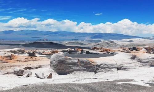 Zdjecie ARGENTYNA / La Puna / Carachi Pampa / Białe Piedra Pomez