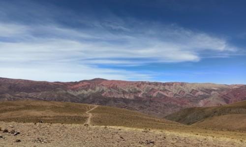 Zdjecie ARGENTYNA / Salta / Humahuaca / Hornocal - wzgórze 14 kolorów w naturze