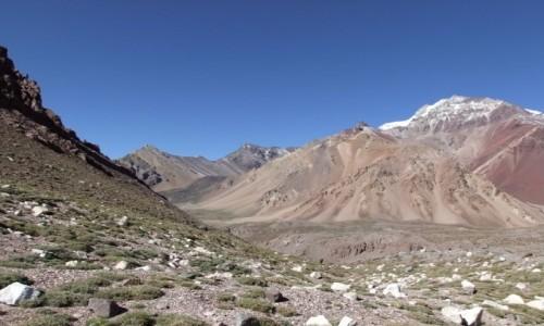 Zdjecie ARGENTYNA / Andy / Rejon Aconcagui / W drodze do Plaza Francia
