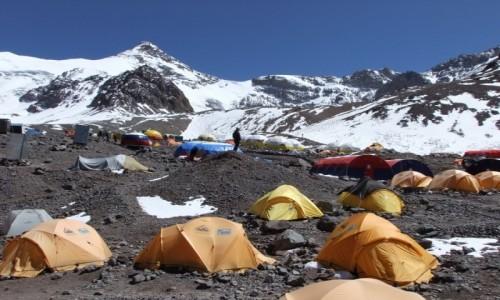 Zdjecie ARGENTYNA / Andy / Plaza De Mulas / Basecamp Plaza De Mulas 4300m
