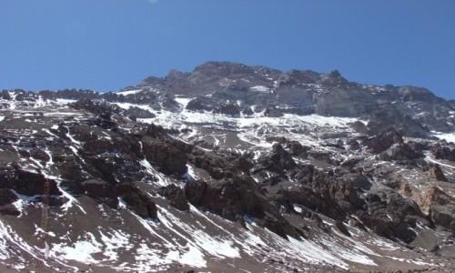 Zdjecie ARGENTYNA / Andy / Plaza De Mulas / Aconcagua 6962m