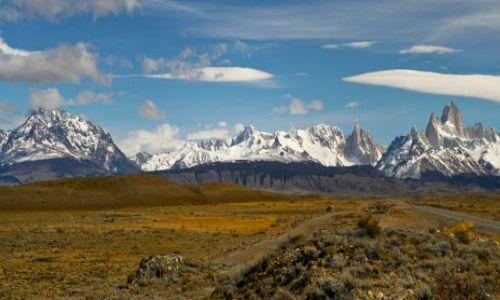 Zdjecie ARGENTYNA / brak / Patagonia / panorama