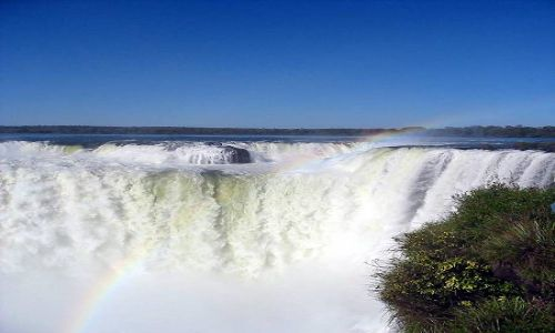 Zdjęcie ARGENTYNA / brak / Park Narodowy Iguazu / Oko w oko z żywiołem