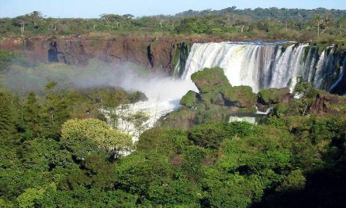 Zdjecie ARGENTYNA / brak / Park Narodowy Iguazu / Wokół Wyspy Świętego Marcina