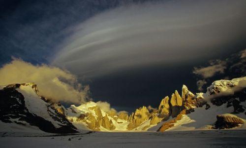 Zdjecie ARGENTYNA / Patagonia / Hielo Sur / cerro torre