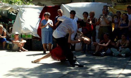 Zdjecie ARGENTYNA / Buenos Aires / San Telmo / w rytmie Tango..