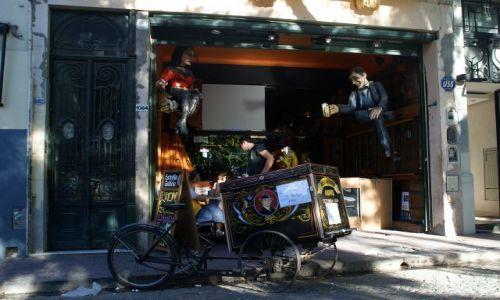 Zdjecie ARGENTYNA / Buenos Aires / San Telmo / ..rower...