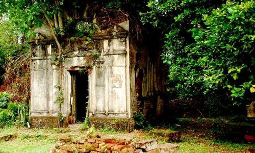 Zdjecie ARGENTYNA / Misjones / misje jezuickie w Santa Ana / grobowiec w Santa Ana
